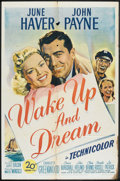 "Movie Posters:Adventure, Wake Up and Dream (20th Century Fox, 1946). One Sheet (27"" X 41"").Adventure.. ..."