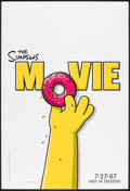 """Movie Posters:Animated, The Simpsons Movie (20th Century Fox, 2007). One Sheet (27"""" X 40"""")SS Advance. Animated.. ..."""