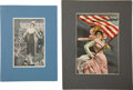 Political:Posters & Broadsides (1896-present), Woman's Suffrage: Pair of Colorful Illustrations.... (Total: 2 Items)