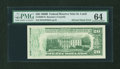 Error Notes:Ink Smears, Fr. 2069-H $20 1969B Federal Reserve Note. PMG Choice Uncirculated64.. ...