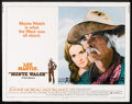 "Movie Posters:Western, Monte Walsh (National General, 1970). Half Sheet (22"" X 28"").Western.. ..."