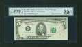 Error Notes:Foldovers, Fr. 1974-G $5 1977 Federal Reserve Note. PMG Choice Very Fine 35EPQ.. ...