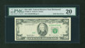 Error Notes:Foldovers, Fr. 2081-E $20 1995 Federal Reserve Note. PMG Very Fine 20.. ...