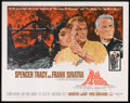 "Movie Posters:Adventure, The Devil at 4 O'Clock (Columbia, 1961). Half Sheet (22"" X 28"").Adventure.. ..."