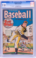 Golden Age (1938-1955):Miscellaneous, Baseball Comics #1 (Will Eisner, 1949) CGC FN/VF 7.0 Cream to off-white pages....