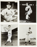 Autographs:Photos, Baseball Stars Signed Photographs Lot of 4. ... (Total: 4 items)