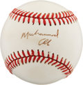 Autographs:Baseballs, Muhammad Ali Single Signed Baseball. ...