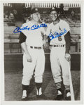 Autographs:Photos, Mickey Mantle and Stan Musial Dual-Signed Photograph. ...