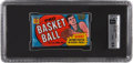 Basketball Collectibles:Others, 1970-71 Topps Basketball Unopened Wax Pack GAI EX-MT+ 6.5. ...