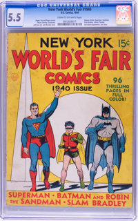 New York World's Fair Comics #1940 (DC, 1940) CGC FN- 5.5 Cream to off-white pages