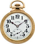 Timepieces:Pocket (post 1900), Illinois Sixty Hour Bunn Special B&O Railroad PresentationWatch, circa 1926. ...