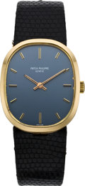 Timepieces:Wristwatch, Patek Philippe Ref. 3548 Gold Wristwatch, circa 1975. ...