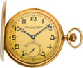Timepieces:Pocket (post 1900), International Watch Co. Schaffhausen Gent's Gold Pocket Watch,circa 1905. ...