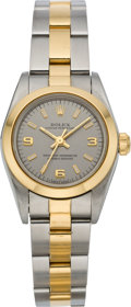 Timepieces:Wristwatch, Rolex Lady's Two Tone Oyster Perpetual, circa 1999. ...