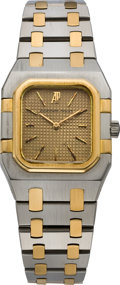 Timepieces:Wristwatch, Audemars Piguet Lady's Two Tone Wristwatch, circa 2000. ...