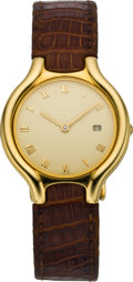 Timepieces:Wristwatch, Ebel Gold Beluga Wristwatch, circa 2005. ...