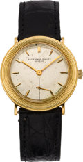 Timepieces:Wristwatch, Audemars Piguet Gent's Gold Wristwatch, circa 1960. ...