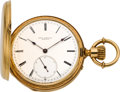 Timepieces:Pocket (pre 1900) , Paul Breton Geneva Heavy Gold High Grade Pocket Watch, circa 1870....
