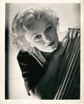 """Movie Posters:Miscellaneous, Jean Harlow by George Hurrell (MGM, Early 1930s). Portrait (8"""" X 10"""").. ..."""