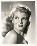 "Movie Posters:Miscellaneous, Rita Hayworth in ""Down to Earth"" by Ned Scott (Columbia, 1947). Portrait Still (8"" X 10"").. ..."