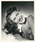 """Movie Posters:Musical, Rita Hayworth in """"Down to Earth"""" by Ned Scott (Columbia, 1947). Portrait Still (8"""" X 10"""").. ..."""