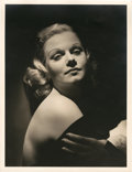 """Movie Posters:Miscellaneous, Jean Harlow by George Hurrell (MGM, Early 1930s). Portrait (10"""" X13"""").. ..."""