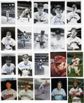 Autographs:Others, Washington Senators and Minnesota Twins Signed Images Lot of 80+....