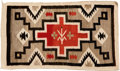 American Indian Art:Weavings, A NAVAJO REGIONAL RUG. Tuba City . c. 1935. ...