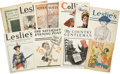 Political:Small Miscellaneous (1896-present), Woman's Suffrage: Large Lot of Magazine Covers featuring Suffrage Themes.... (Total: 11 Items)