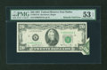 Error Notes:Foldovers, Fr. 2073-K $20 1981 Federal Reserve Note. PMG About Uncirculated 53EPQ.. ...