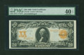 Large Size:Gold Certificates, Fr. 1182 $20 1906 Gold Certificate PMG Extremely Fine 40 EPQ....