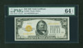 Small Size:Gold Certificates, Fr. 2404 $50 1928 Gold Certificate. PMG Choice Uncirculated 64 EPQ.. ...