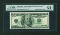 Error Notes:Offsets, Fr. 2175-H $100 1996 Federal Reserve Note. PMG Choice Uncirculated64 EPQ.. ...