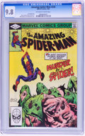 Modern Age (1980-Present):Superhero, The Amazing Spider-Man #228, 229, and 243 Group (Marvel, 1982-83)Condition: CGC NM/MT 9.8.... (Total: 3 Comic Books)