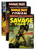 Magazines:Adventure, Savage Tales #1-10 Plus Group (Marvel, 1971-75) Condition: Average VF.... (Total: 20 Comic Books)