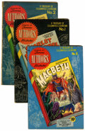 Golden Age (1938-1955):Classics Illustrated, Stories by Famous Authors Illustrated Group (Seaboard Pub.,1950).... (Total: 4 Comic Books)