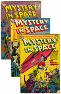 Golden Age (1938-1955):Science Fiction, Mystery in Space Group (DC, 1952-57).... (Total: 16 Comic Books)