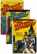 Golden Age (1938-1955):Crime, Mr. District Attorney Group (DC, 1948-54).... (Total: 15 Comic Books)