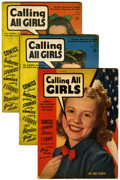 Golden Age (1938-1955):Romance, Calling All Girls Group (Parents' Magazine Institute, 1941-)....(Total: 17 Comic Books)