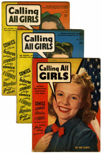 Calling All Girls Group (Parents' Magazine Institute, 1941-).... (Total: 17 Comic Books)