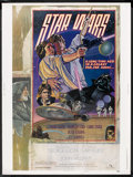 "Movie Posters:Science Fiction, Star Wars (20th Century Fox, 1977). Poster (30"" X 40"") Style D. Science Fiction.. ..."