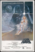 "Movie Posters:Science Fiction, Star Wars (20th Century Fox, 1977). Poster (40"" X 60"") Style A. Science Fiction.. ..."
