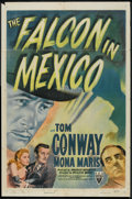"""Movie Posters:Crime, The Falcon in Mexico (RKO, 1944). One Sheet (27"""" X 41"""") Style A.Crime.. ..."""