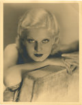 "Movie Posters:Miscellaneous, Jean Harlow (MGM, 1930s). Portrait (11"" X 14"").. ..."