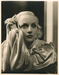 "Movie Posters:Miscellaneous, Carole Lombard by George Hurrell (MGM, 1930s). Portrait (10.75"" X13.75"").. ..."