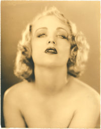 "Carole Lombard by Edwin Bower Hesser (Fox, 1920s). Portrait Still (10.25"" X 13"")"
