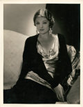 "Movie Posters:Miscellaneous, Myrna Loy by George Hurrell (MGM, 1930s). Portrait (10"" X 13"")....."