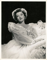 """Myrna Loy in """"The Thin Man Goes Home"""" by Eric Carpenter (MGM, 1945). Portrait Still (10"""" X 13"""")"""