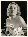 """Movie Posters:Miscellaneous, Anita Page by George Hurrell (MGM, 1930s). Portrait Photo (10"""" X 13"""").. ..."""