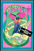 """Movie Posters:Animated, Fantasia (Buena Vista, R-1970). Poster (40"""" X 60""""). Animated.. ..."""